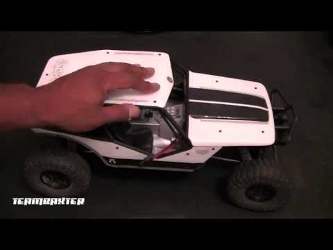 Axial Wraith with SCX10 JK Axles and Shocks
