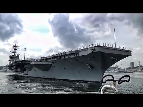USS George Washington • Final Departure From Japan
