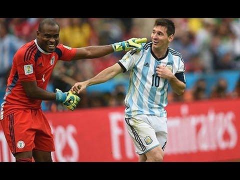 Arquero de Nigeria Bromea sobre Messi, Imperdible
