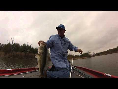 Bass Fishing Last Cast Of The Day Joe Pool Lake Texas
