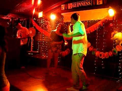 Lety y Jonay... Vivir lo nuestro! Karaoke 31.07.2010