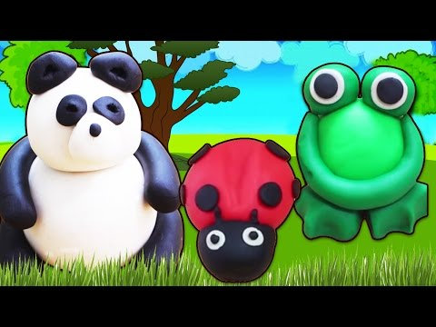Fun with Play Doh | Learn How to make Play Doh Animals & more | Easy DIY Play-Doh Tutorials