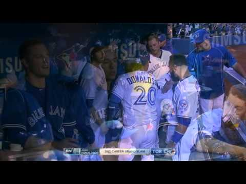 Josh Donaldson 2016 April Highlights