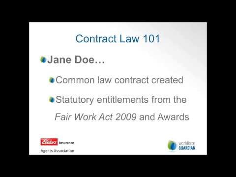 Contracts of Employment - What You Need to Know: Elders HR Webinars