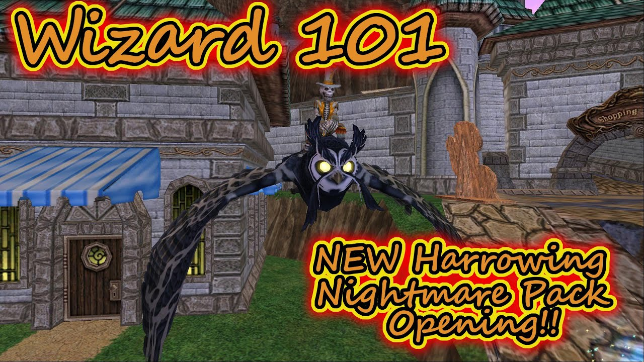 Wizard101 Nightmare Mount – Billy Knight