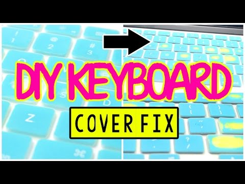 ♡ Super Easy DIY Keyboard Cover Fix   AlohaKatieX ♡