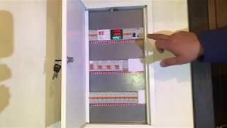 Современный однофазный электрощит для дома (минимум) своими руками! Обзор.