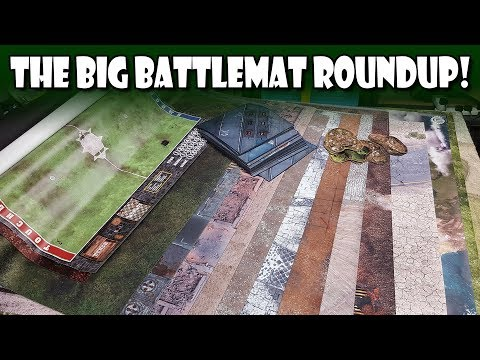 The Big Battlemat Roundup!