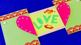 видео Как сделать бабушке открытку