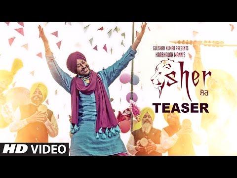 Sher Song Teaser Harbhajan Mann | Tigerstyle | Releasing 25 November