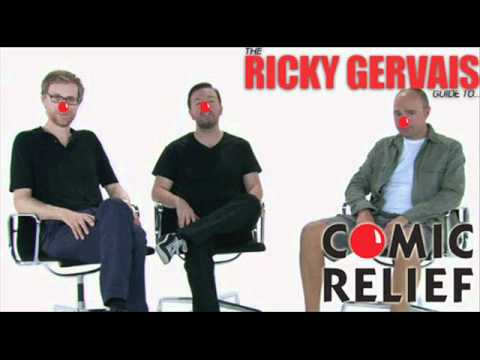 ricky gervais guide comic relief
