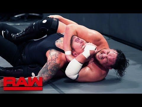 Ricochet Vs. Samoa Joe Vs. Baron Corbin – King Of The Ring Semifinal Match: Raw, Sept. 9, 2019