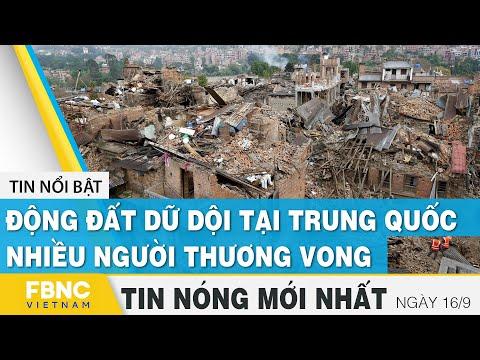 gửi hàng đi canada - Tin mới nhất 15/9 | Động đất dữ dội tại Trung Quốc, nhiều người thương vong | FBNC