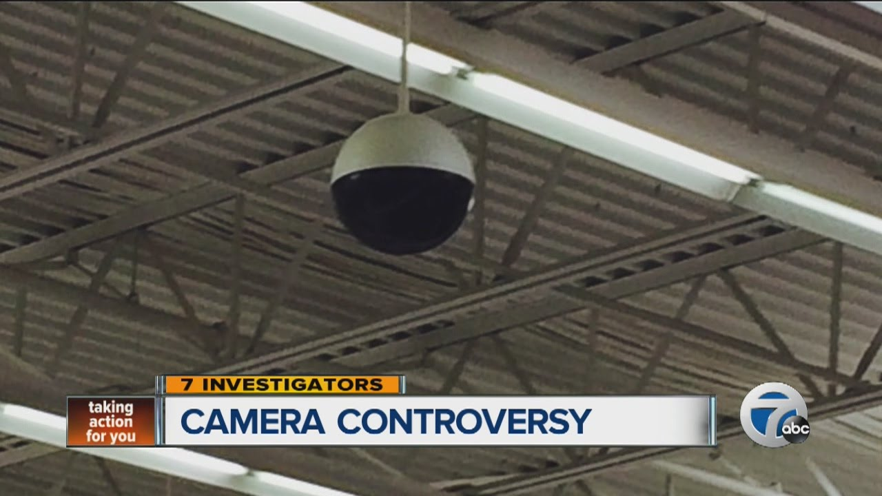 Security camera controversy at Howell Walmart - YouTube