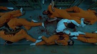 o justiceiro, cena de ação na prisão-demolidor 2 temporada