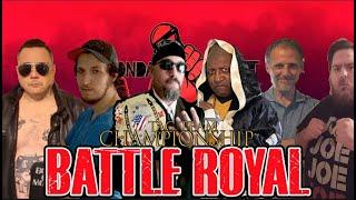 Tag Team Title Qualification: Battle Royal (Monday Night Mic)
