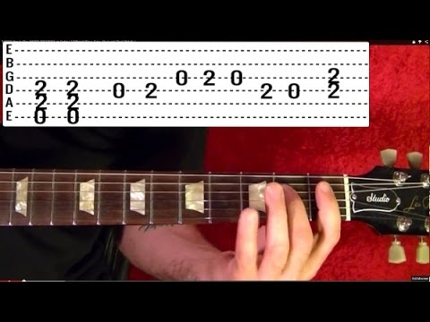 Dirty Deeds Done Dirt Cheap by AC/DC - Guitar Lesson - Angus Young
