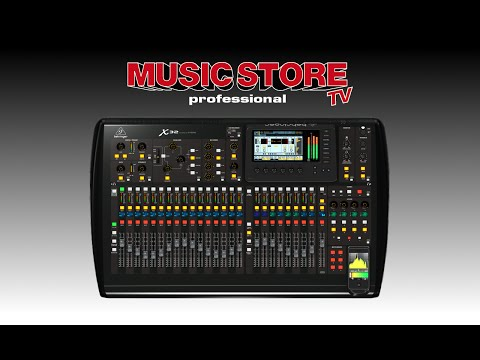 BEHRINGER X32 Digital Mixer – Demo im MUSIC STORE