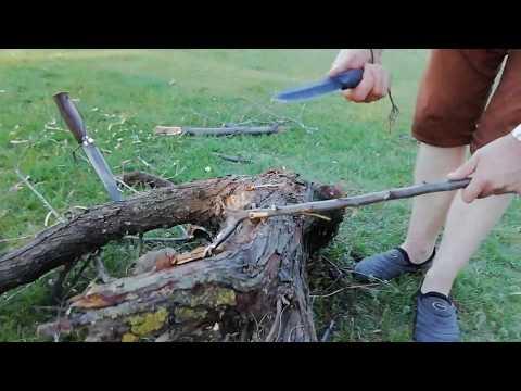 Нож Ворон 3 против ножа Таежного