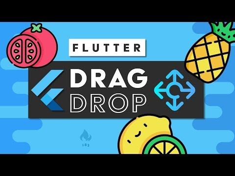 Flutter Drag & Drop for Two-Year-Olds