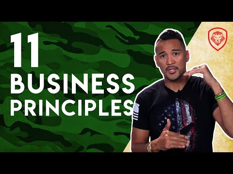 11 Marine Corps Principles for Entrepreneurs