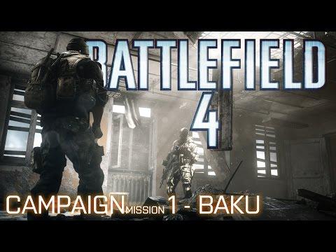 Battlefield 4 Campaign - BAKU
