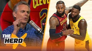 Colin Cowherd on Cavs stealing Gm 4 from Pacers, Westbrook's weakness and Ben Simmons | THE HERD