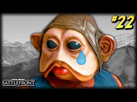 STAR WARS Battlefront - Unfortunate Moments #22 (Worst Spawns, Sad Nien Nunb, More Funny Moments!)