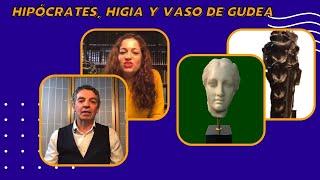 Microcharlas en el Espacio Luzarra: Hipócrates, Higia y Vaso de Gudea