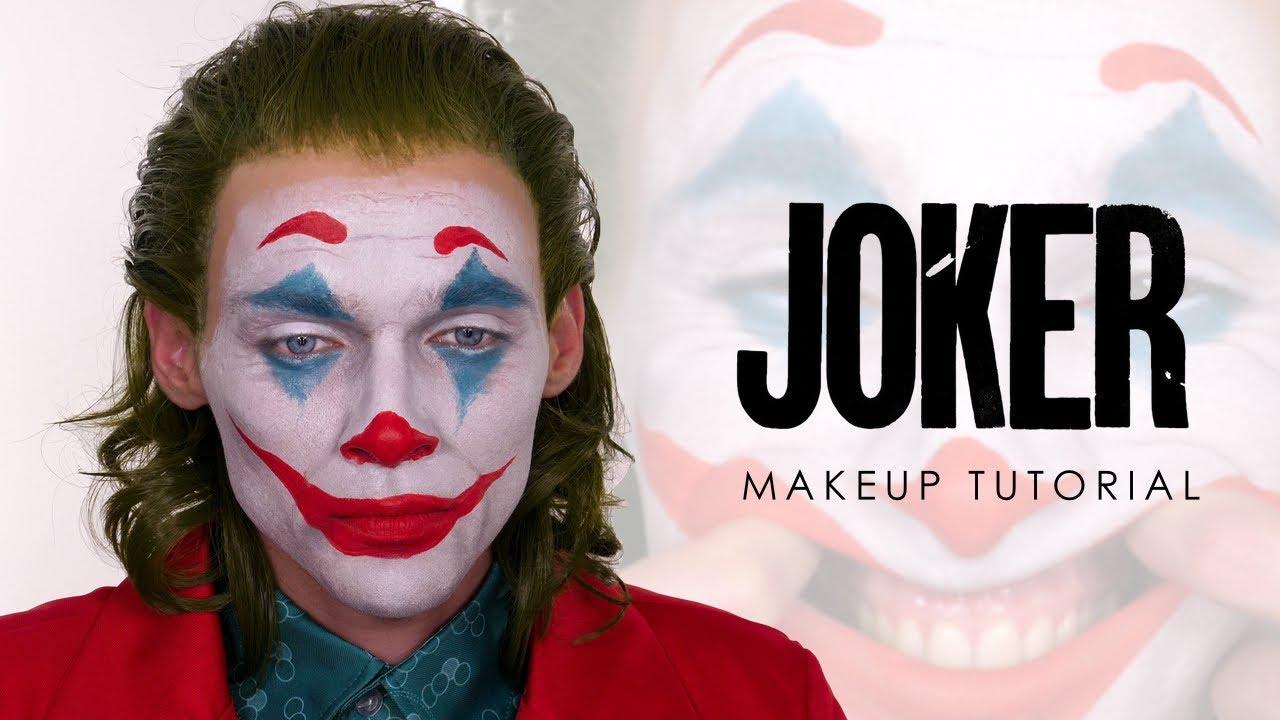 Download The Joker Halloween Makeup - Joaquin Phoenix   Shonagh Scott