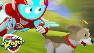 Space Ranger Roger | Roger's Squeeky Situation | HD Full Episodes 14 | Cartoons For Children