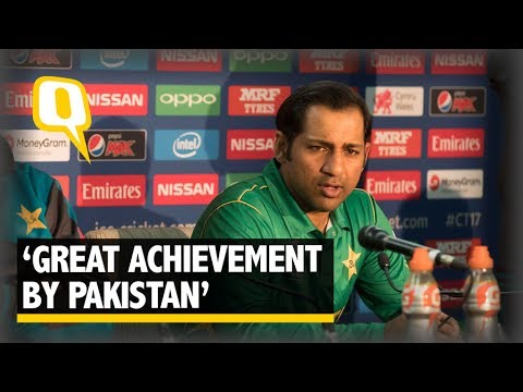 Pak Captain Sarfraz Khan: Please Come Play in Pakistan - The Quint