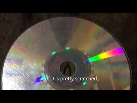 Does cleaning audio CDs with toothpaste really works? PROOF!