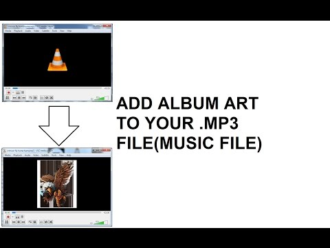 how to make or change album art or music file picture(art)