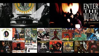 Top 20 Hip-Hop Albums Of The 1990's:  Part 2 1992-1993