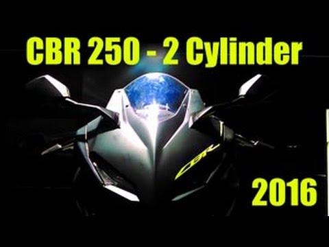 Honda CBR 250 RR - 2 Cylinder 2016 First Look | Guntur Wibowo