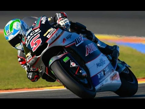 Highlight Moto2 Grand prix Sircuit Valencia Spanyol 2016 Full HD // Johann jarco winner