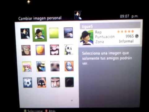 Como Cambiar La Imagen De Jugador De Xbox 360 Doovi