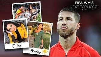 Sergio Ramos datet die 8 Jahre ältere Moderatorin  Pilar Rubio
