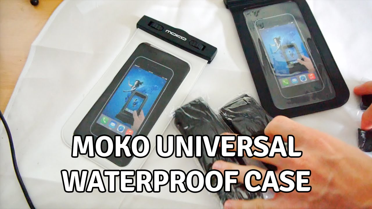 finest selection 4f4b4 8e1bd The Moko Universal Waterproof Case for Smartphones