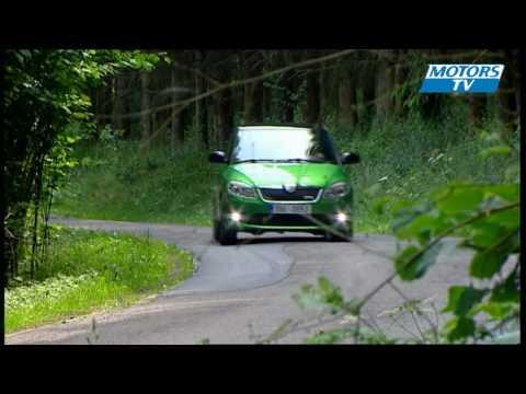 Car test SKODA FABIA RS