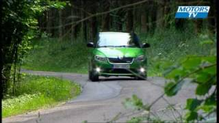 Car test SKODA FABIA RS