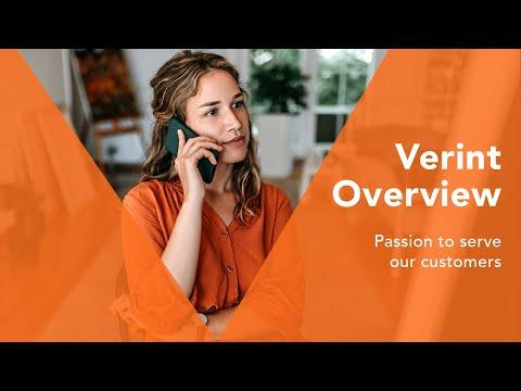 Verint Overview 2017