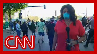 CNN reporter in Minneapolis: I've never seen anything like this