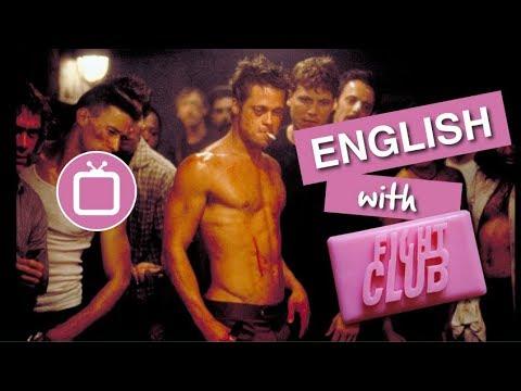 Learn English through Movies   Brad Pitt & Fight Club