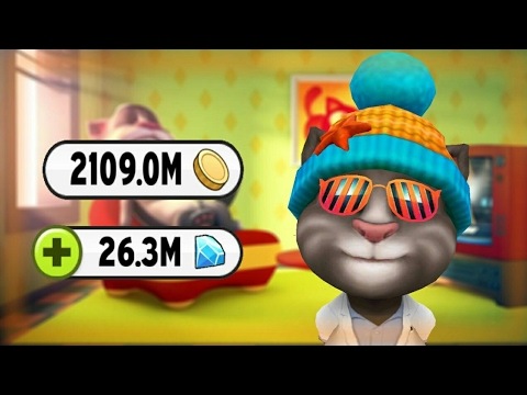 How To Hack My Talking Tom Latest Version 4.1.1.9 [No Root] 2017