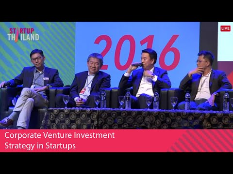 Corporate Venture Investment Strategy in Startups