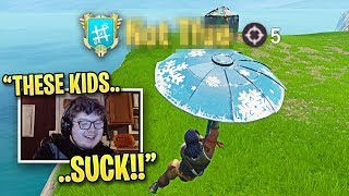 Best Console Player REACTS to PC Fortnite Pro Players! (Fall Skirmish Week 5 Highlights)