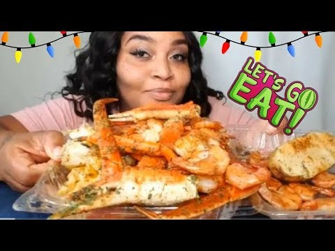Download Youtube: HUGE SEAFOOD MUKBANG ⚠️ WATCH ME EAT AND TALK ⚠️