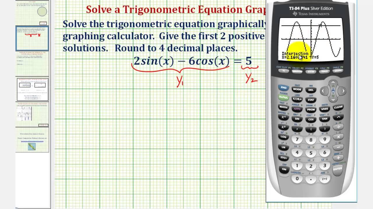 Matrix algebra with the ti-83 plus graphing calculator youtube.